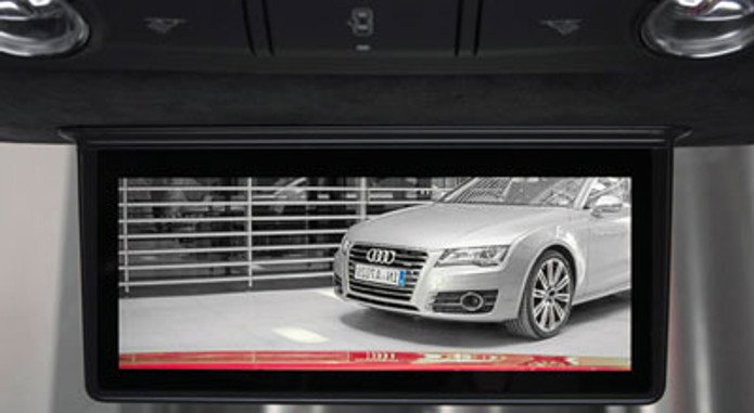 Audi Digital Rearview Mirror