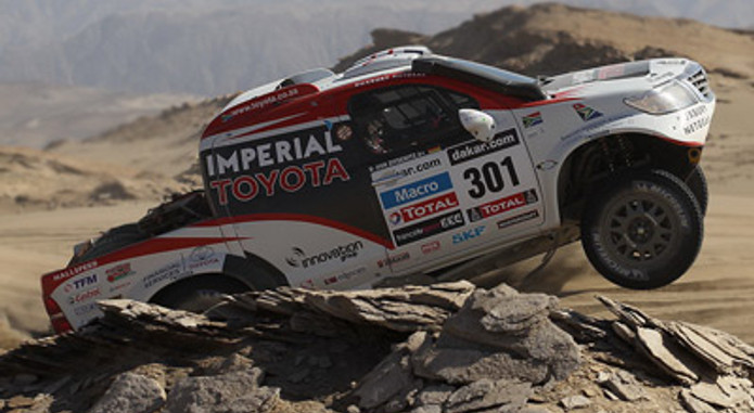Dakar De Villiers Fights Back 1