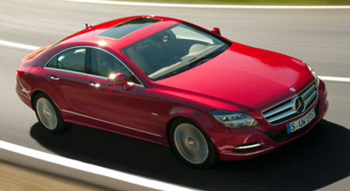 Mercedes Benz Cls 250 Cdi Blueefficiency Red