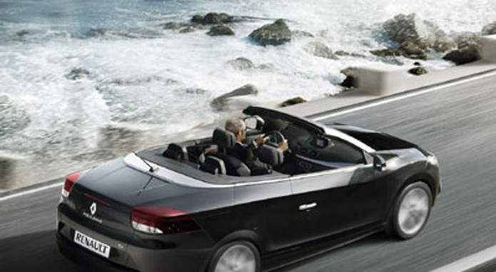 New Renault Megane Coupe Cabriolet