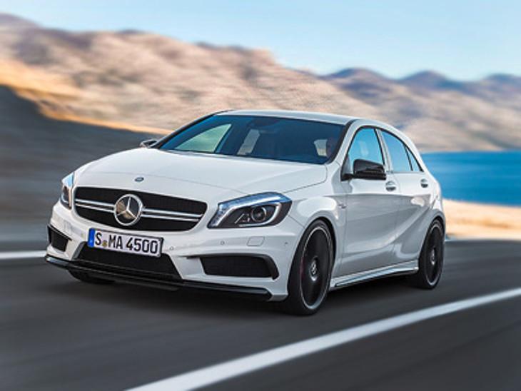 007 Mercedes A45 Amg