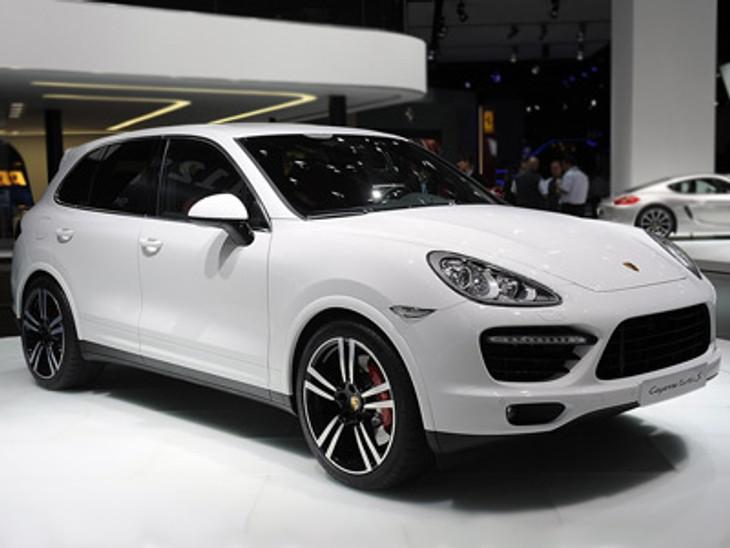 New Porsche Cayenne Turbo S Shown At 2013 Detroit Auto Show Cars