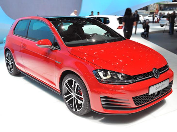 01 2014 Volkswagen Golf Gtd Geneva