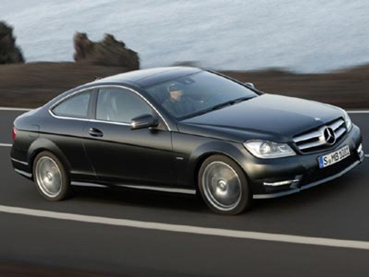 2012 Mercedes Benz C Class Coupe
