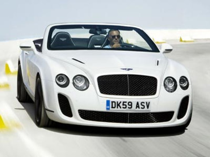 Bentley Continental Supersports Convertable