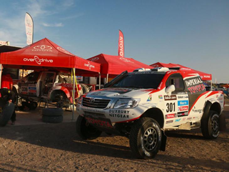 Dakar Toyota 2