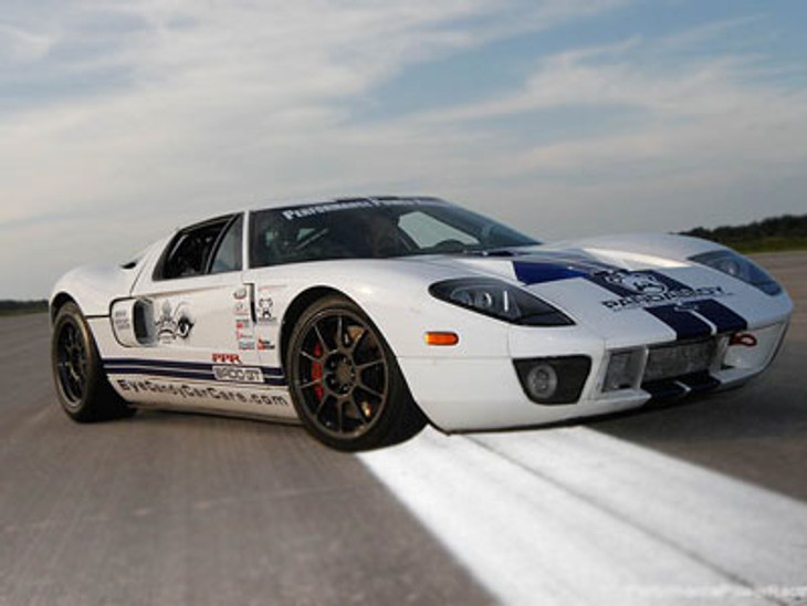Ford Gt Record Mile