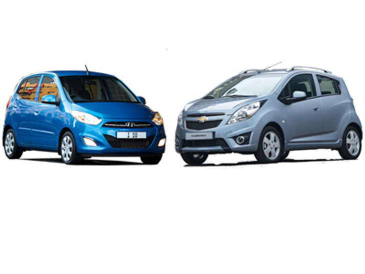 Hyundai I10 1 25 Gls And Chevrolet Spark 1 2 Ls Compared
