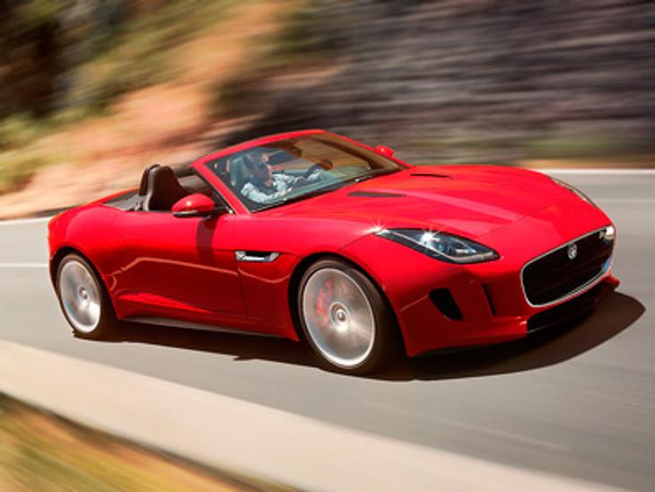 Jaguar F Type Testing