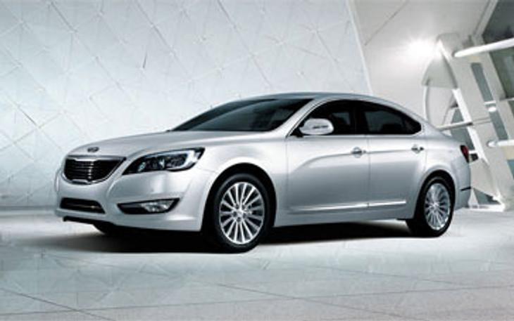 Kia New Luxury Sedan