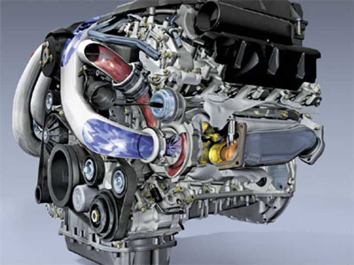 Mercedes Benz V6 V8 Engine