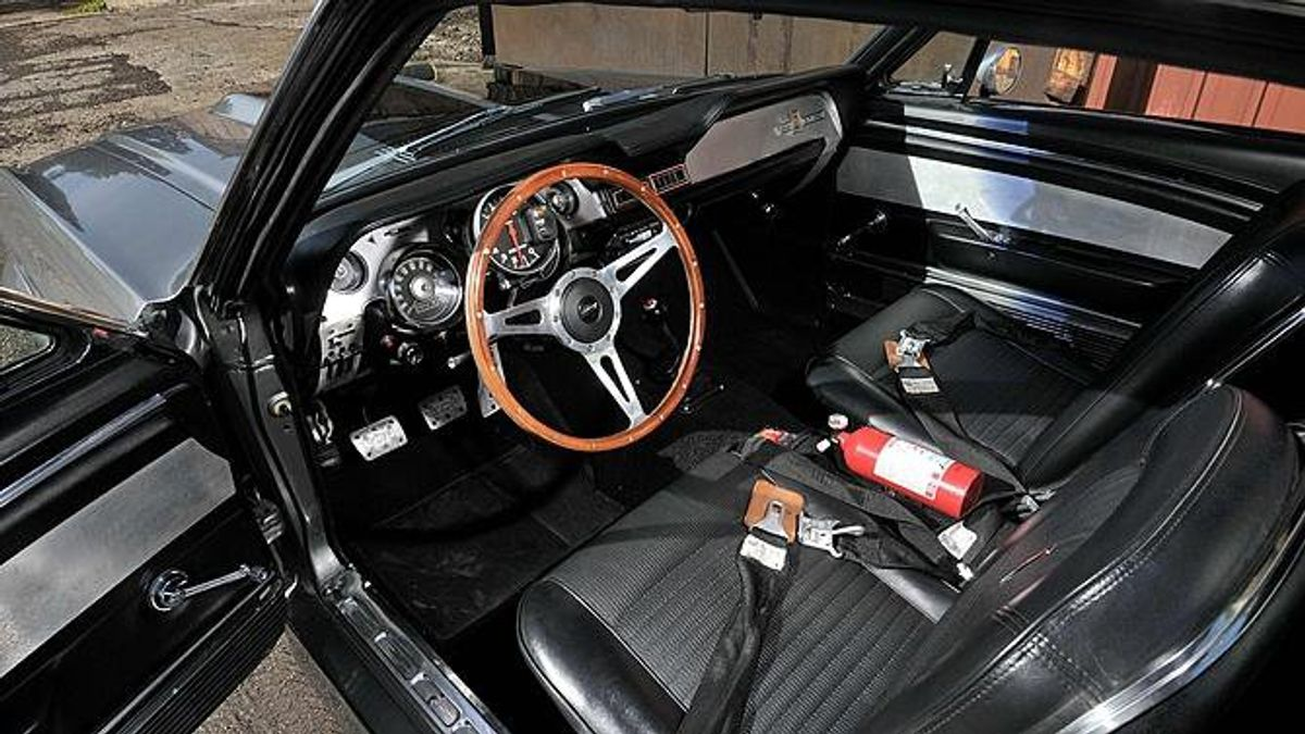 1967 ford mustang �eleanor� up for auction carscoza