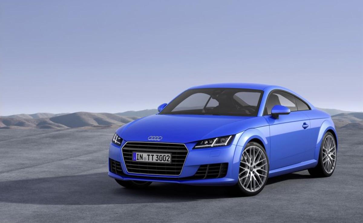 מדהים 2015 Audi TT Coupe Officially Revealed - Cars.co.za NB-46