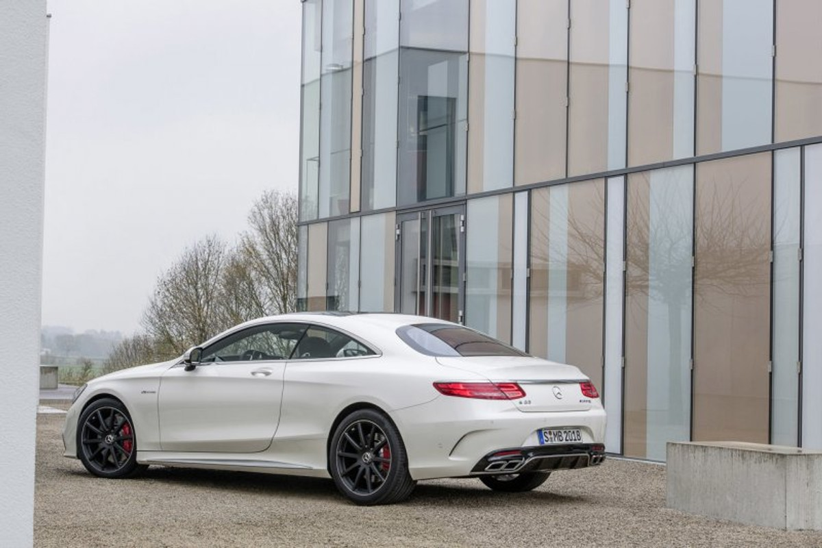 S63 Amg Coupe >> 2015 Mercedes Benz S63 Amg Coupe Officially Unveiled Cars
