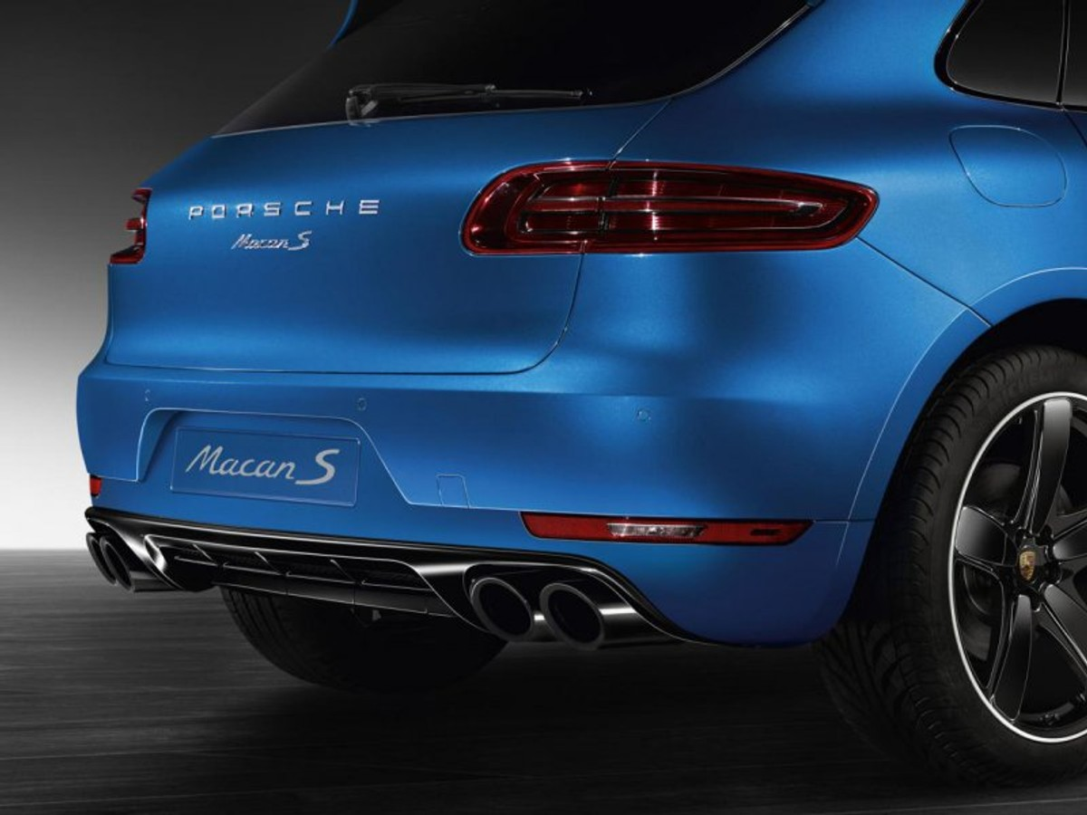 Porsche Adds New Sport Design Package To 2015 Macan Cars Co Za