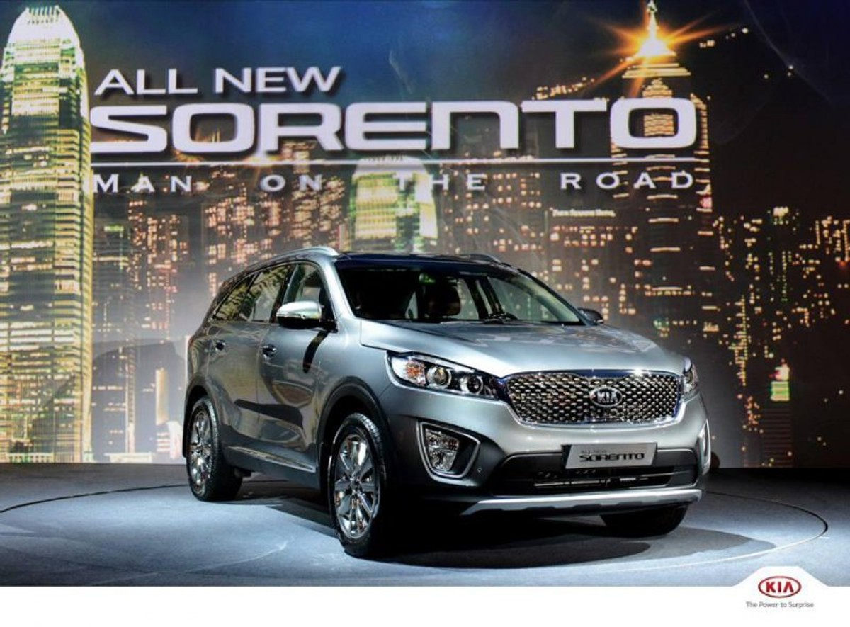 sa bound  sorento officially introduced carscoza
