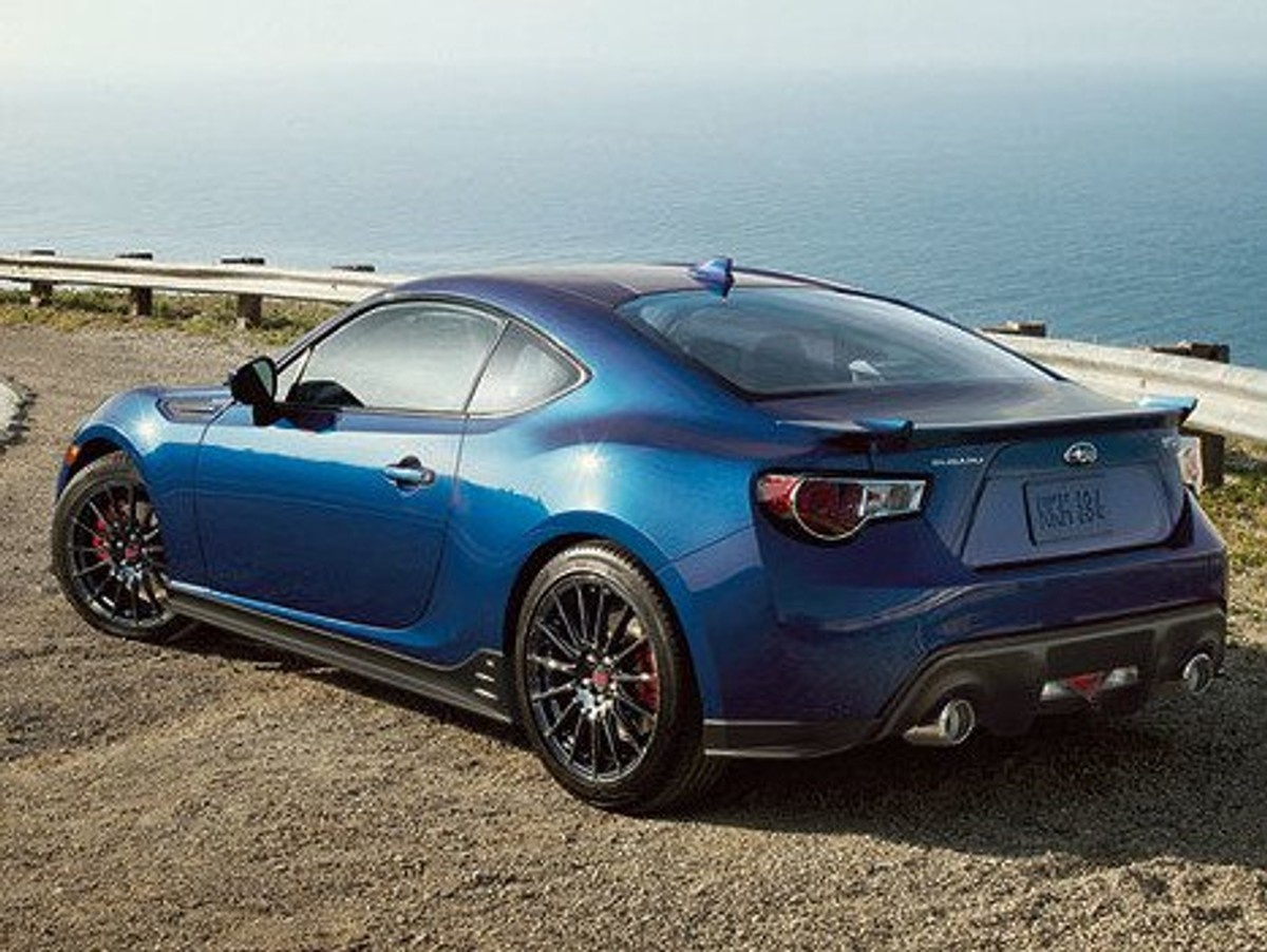 Subaru BRZ Series Blue Limited Edition Unveiled - Cars.co.za