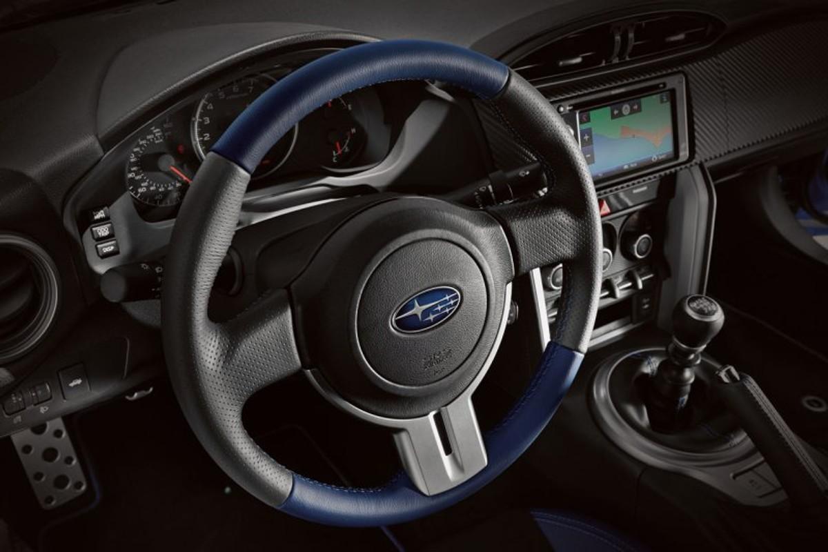 Subaru Brz Series Blue Limited Edition Unveiled Cars Co Za
