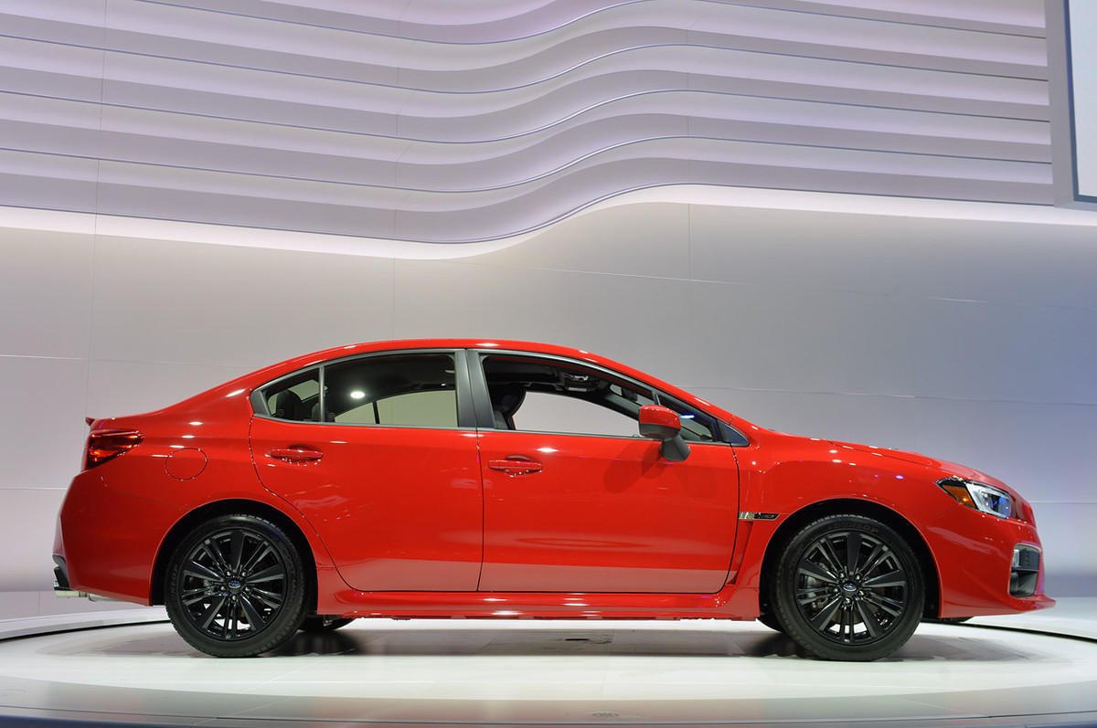 2015 Subaru Wrx Revealed In La Cars Co Za