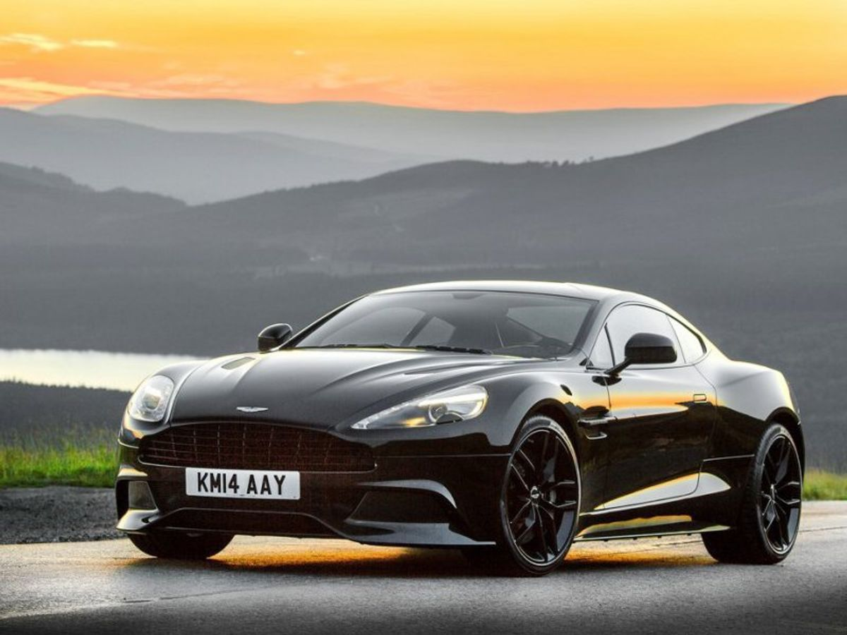 Aston Martin Vanquish Carbon Black Announced Carscoza - Aston martin vanquish black