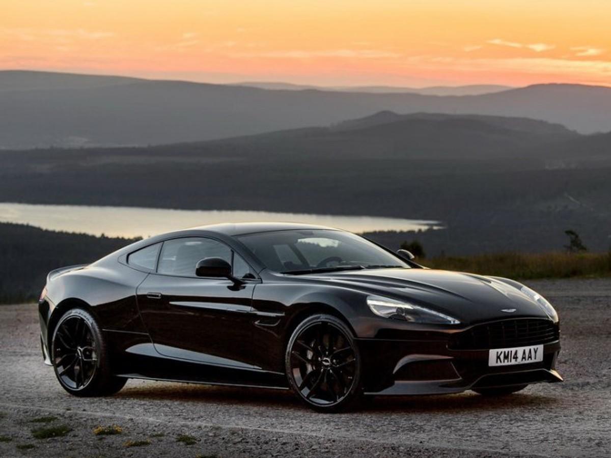 Aston Martin Vanquish Carbon Black Announced Carscoza - Black aston martin vanquish