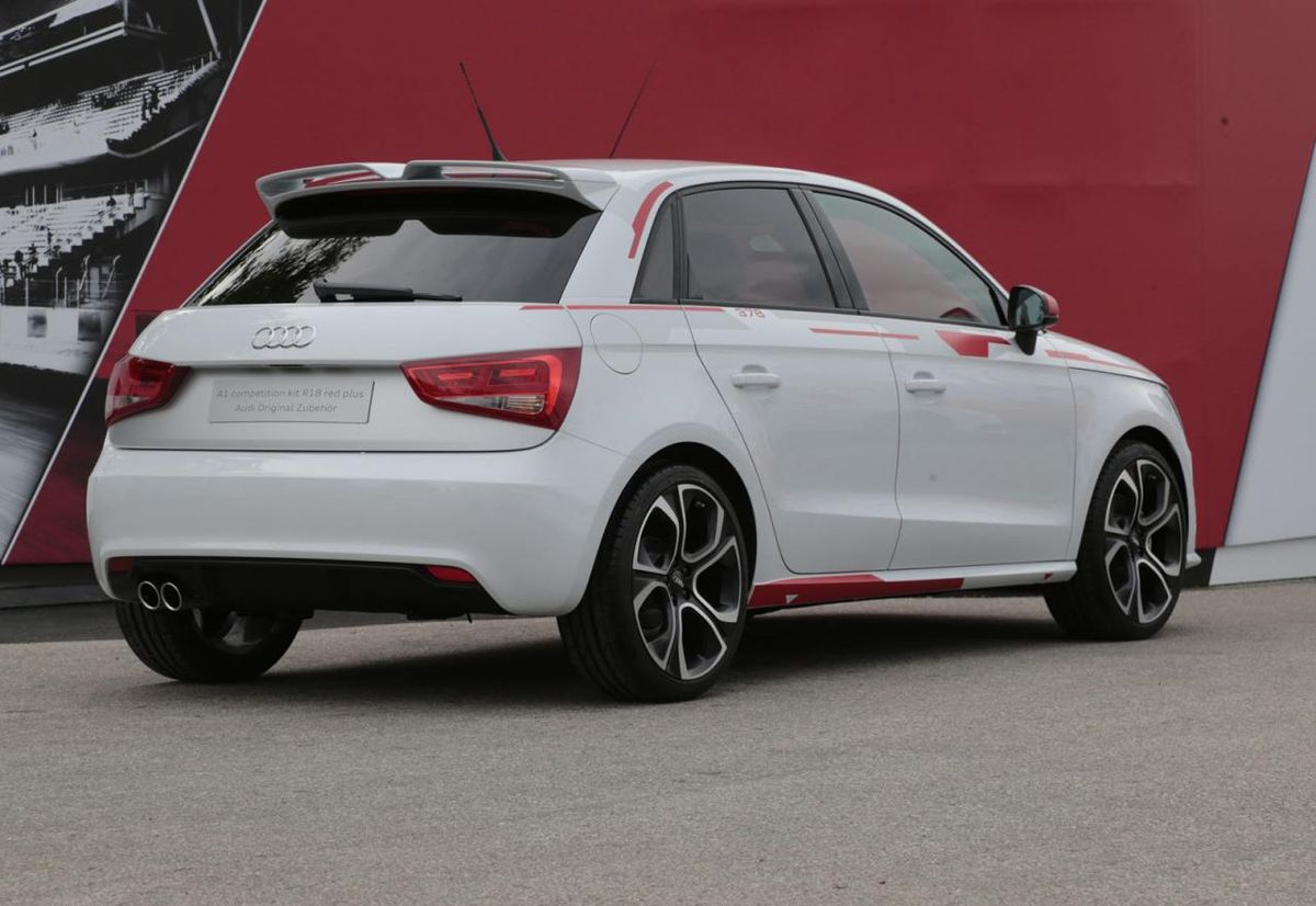 audi a1 r18 le mans limited edition introduced in sa. Black Bedroom Furniture Sets. Home Design Ideas