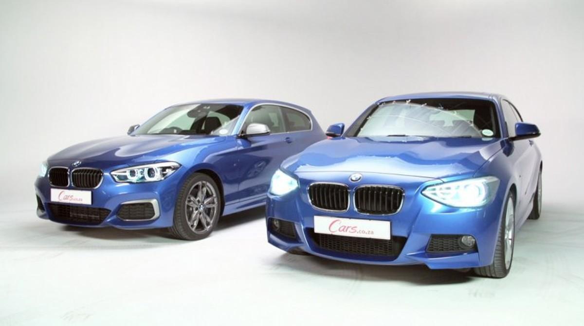 2015 Bmw 1 Series Facelift New Vs Old Cars Co Za