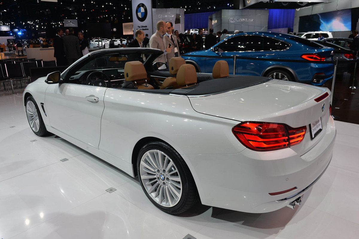 bmw 4 series convertible officially revealed in la cars. Black Bedroom Furniture Sets. Home Design Ideas