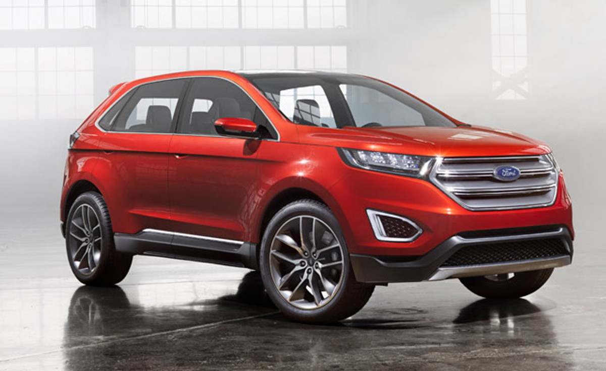 New Automated Driving Technologies In The Ford Edge Concept - Cars.co.za