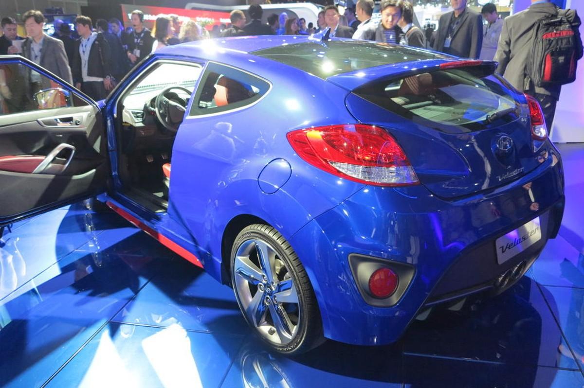2014 Hyundai Veloster Turbo R-Spec Unveiled In LA - Cars co za