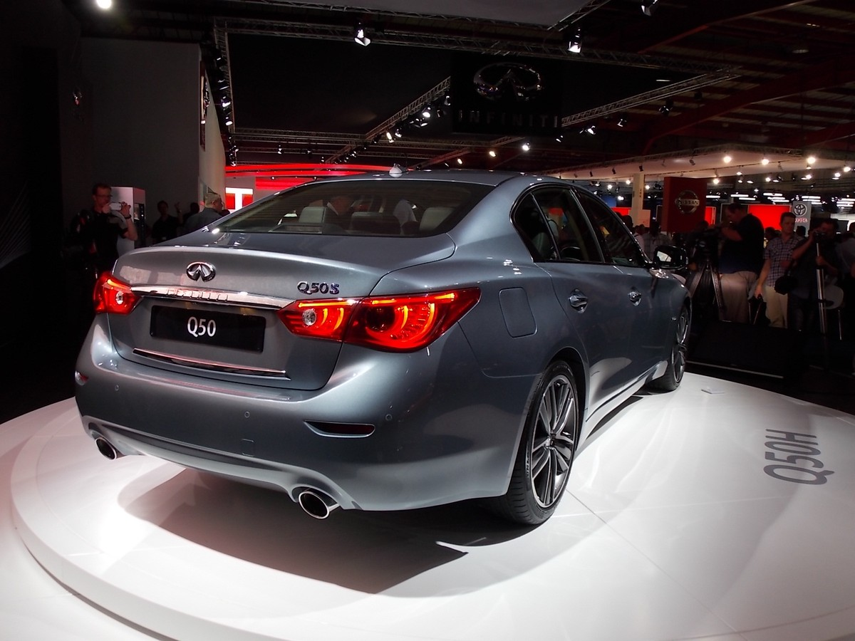 Infiniti Q50 shown at JIMS before South African launch ...