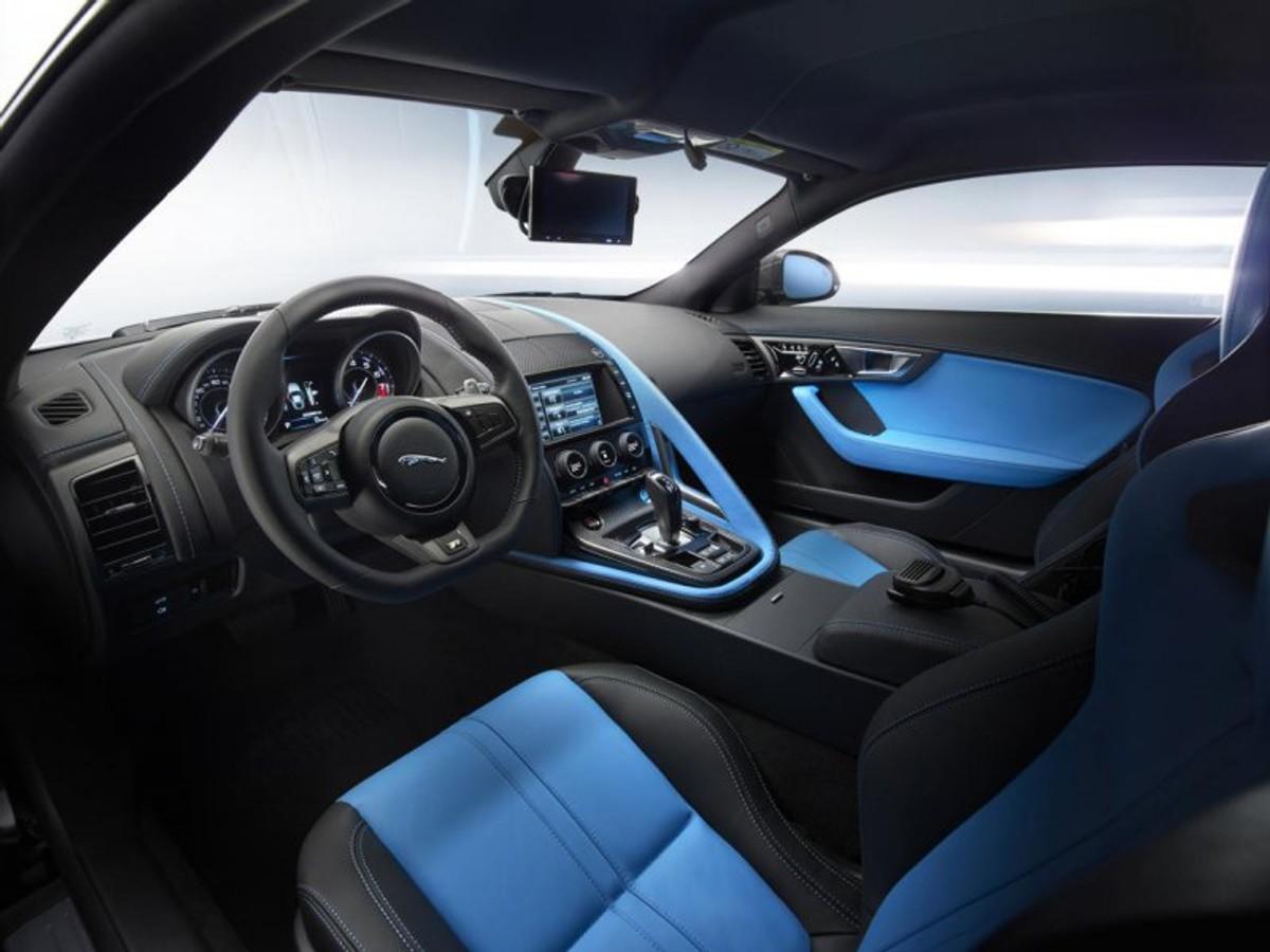 Jaguar F Type R Coupe Interior