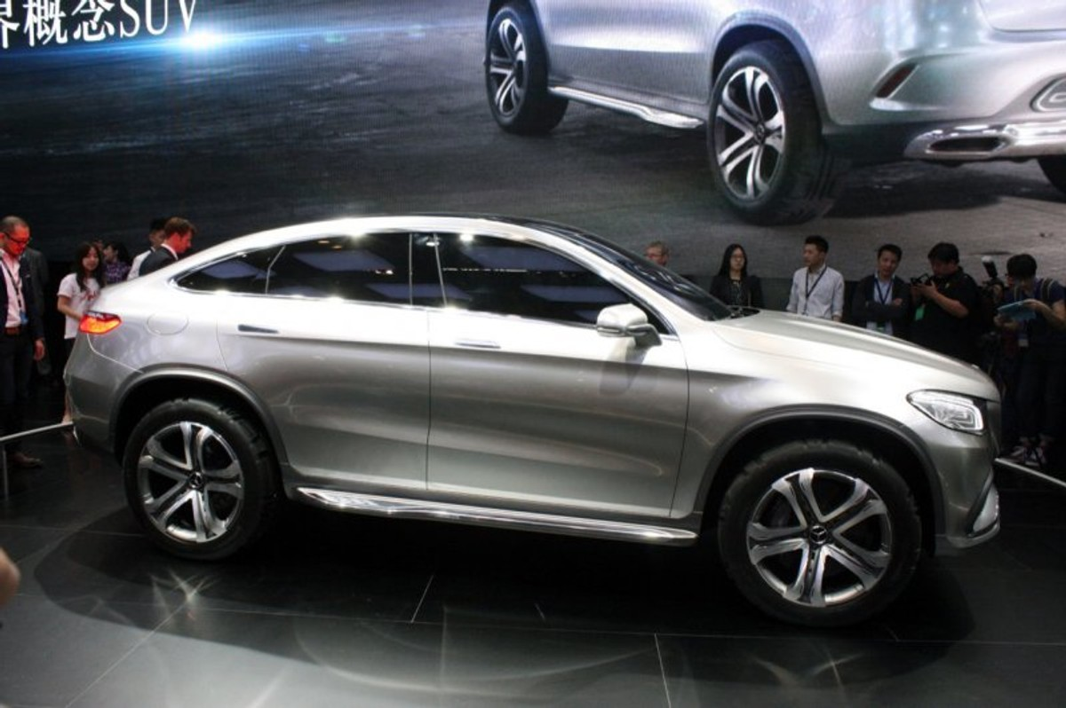 Mercedes-Benz Concept Coupe SUV Unveiled - Cars.co.za
