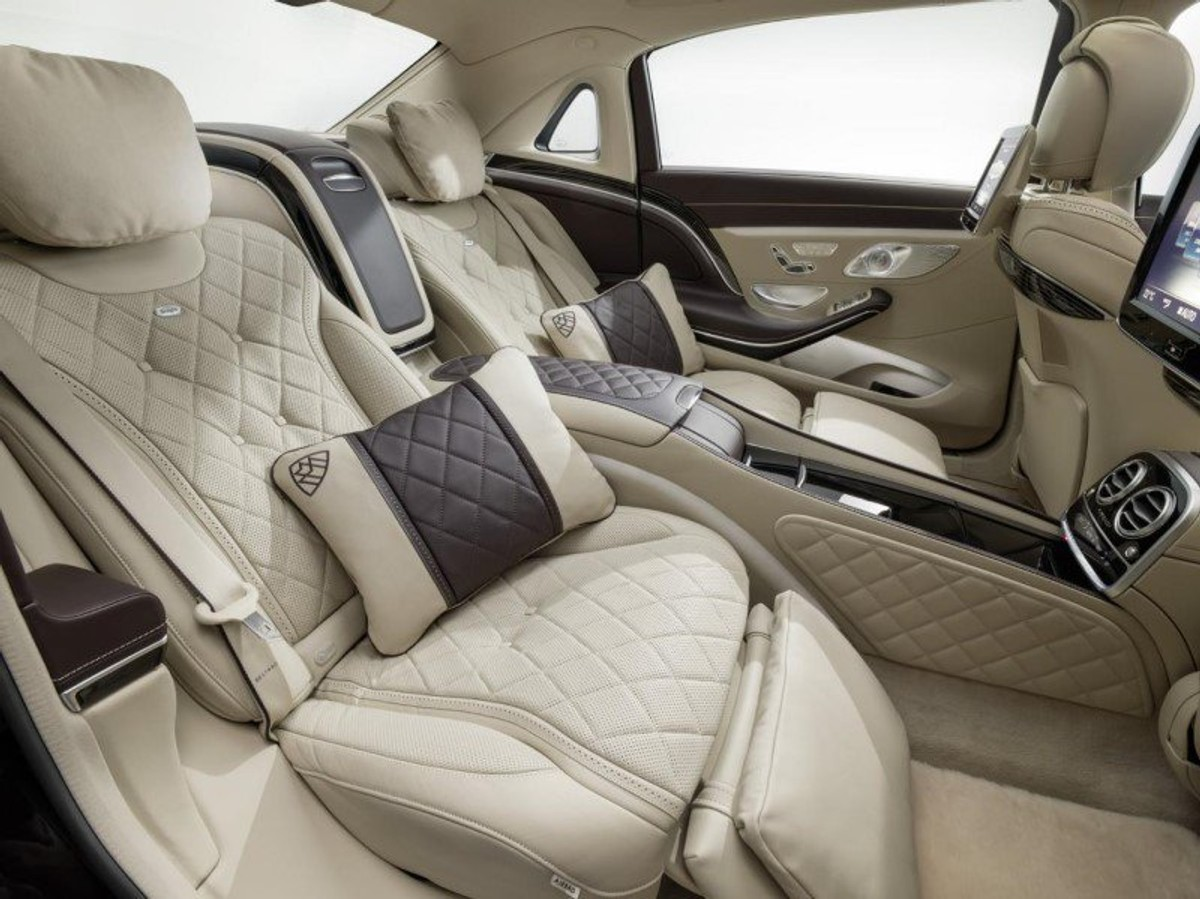 mercedes-maybach s-class unveiled (video) - cars.co.za