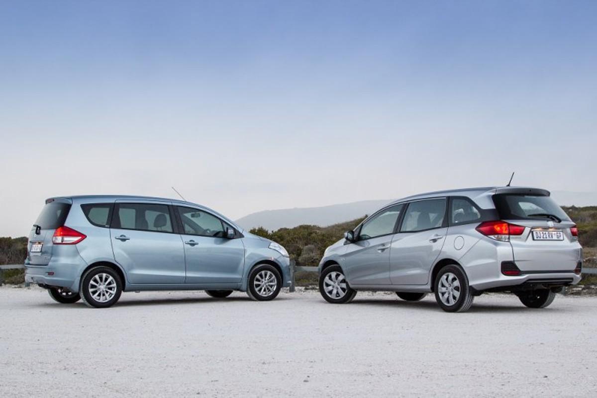 Comparison Honda Mobilio Vs Suzuki Ertiga Cars Co Za