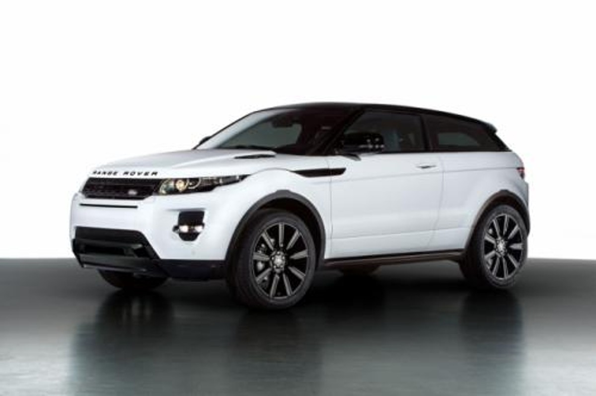 range rover evoque black edition now in south africa. Black Bedroom Furniture Sets. Home Design Ideas