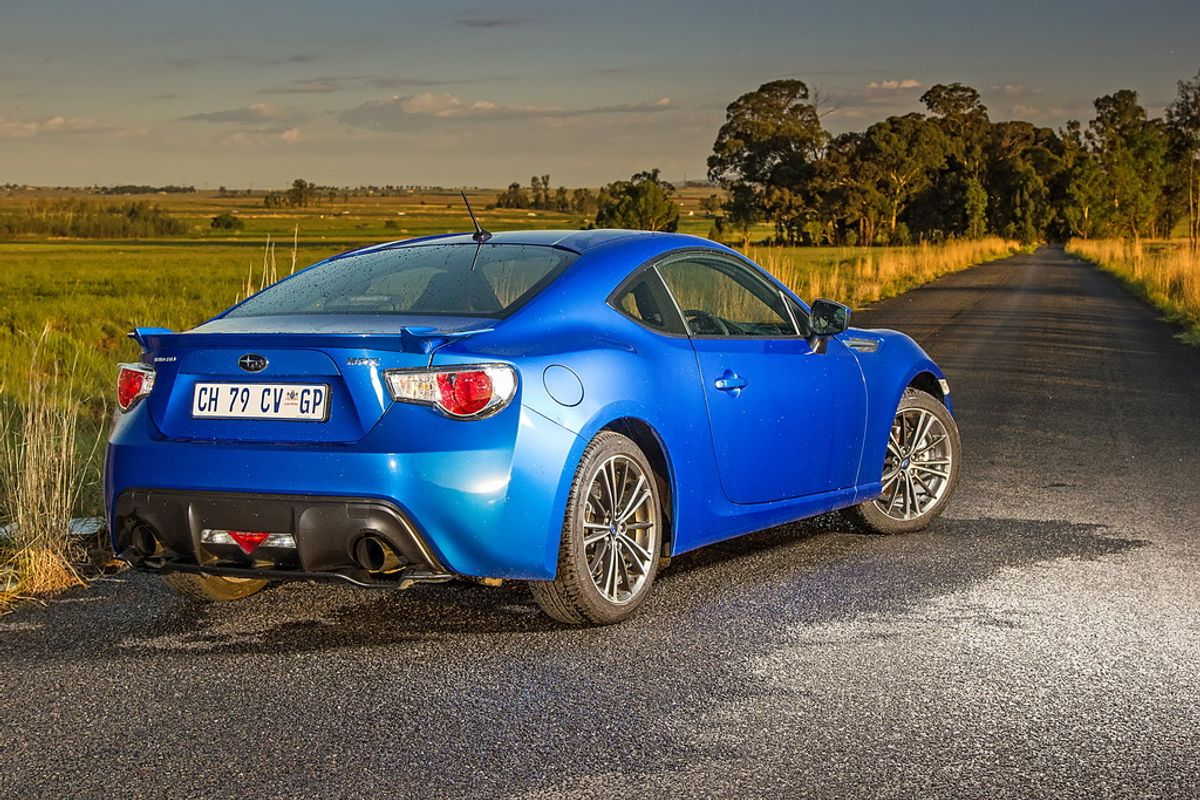 Subaru BRZ Review - Cars.co.za