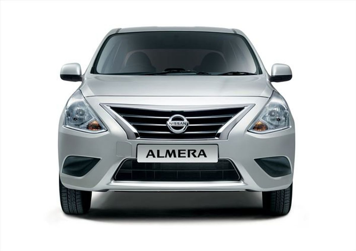 Updated Nissan Almera Reintroduced For 2014 Model Year