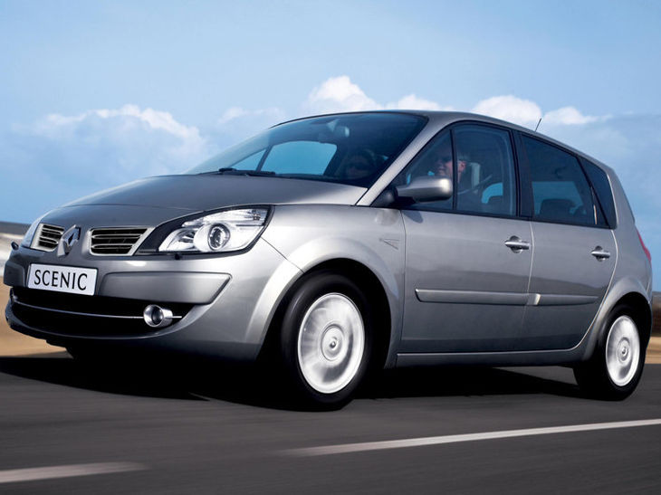 Renault Grand Scenic 1 9 Dci Dynamique 2009 Driving