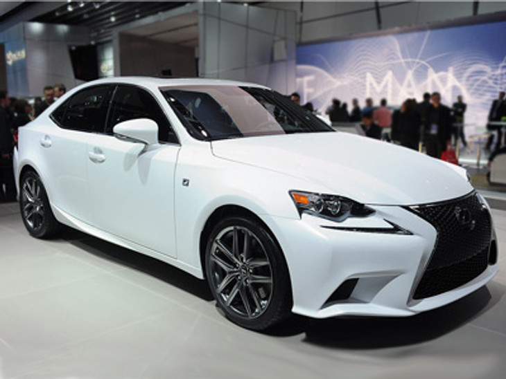 Lexus Is Makes Its Premiere At 2013 Detroit Auto Show