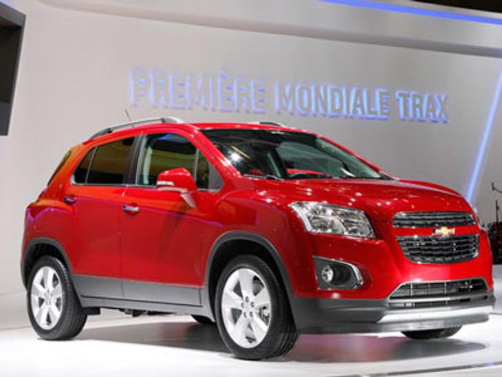New Chevrolet Trax Makes Paris Motor Show Debut Cars Co Za