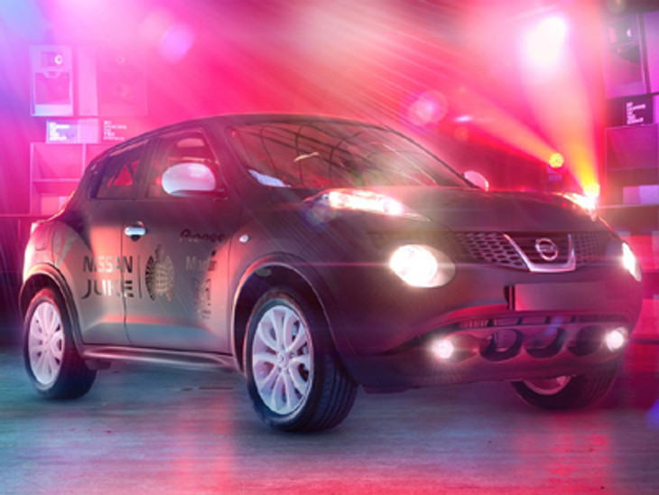 Nissan Juke Box Concept moves to the beat - Cars.co.za