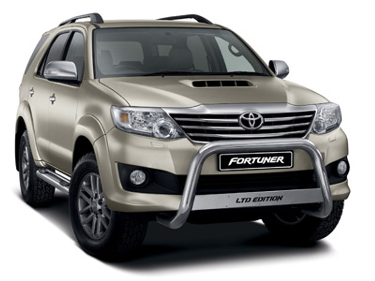 Toyota Fortuner Limited Edition Released In South Africa