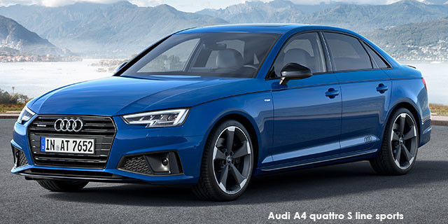 Audi A4 40TFSI sport S line sports_1