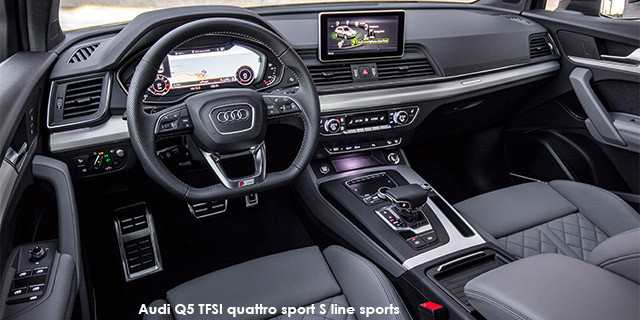 Audi Q5 Specs >> Audi Q5 2 0tfsi Quattro Sport S Line Sports Specs In South