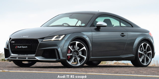 Audi TT TT RS coupe quattro_1