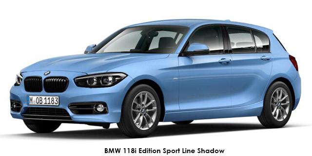 BMW 1 Series 118i 5-door Edition Sport Line Shadow auto