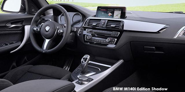 BMW 1 Series M140i 5-door Edition Shadow sports-auto Specs