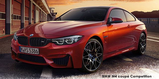 bmw m4 m4 coupe competition specs in south africa
