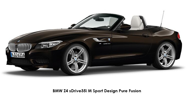 Bmw Z4 Sdrive20i M Sport Design Pure Fusion Auto Specs In South